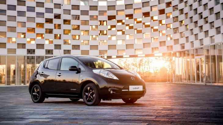 Nissan показал «приборку» нового Leaf