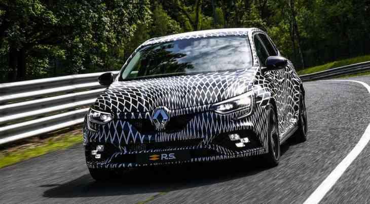 Renault Megane R.S. нового поколения: свежие данные