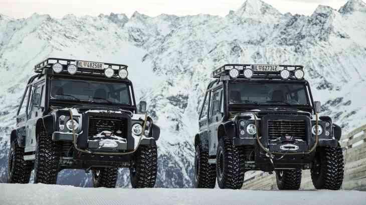 Новый Land Rover Defender станет «молодежнее»