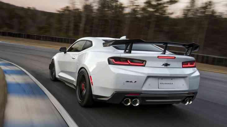 Самую быструю версию Camaro засняли на трассе Нюрбургринг