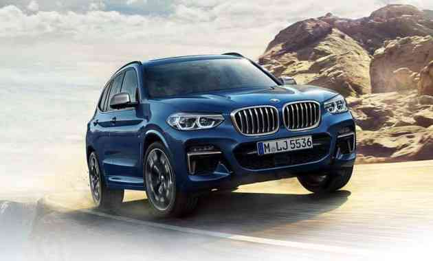 Опубликовано официальное видео с новым кроссом BMW X3