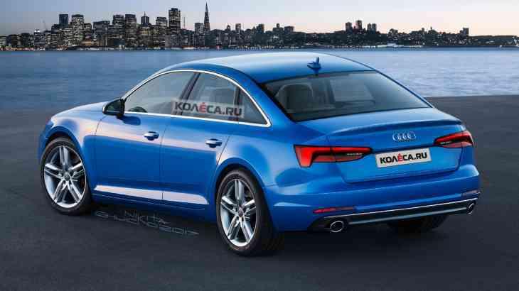 Новая Audi A6: первые изображения