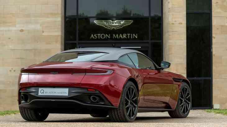 Aston Martin представил уникальный спорткар