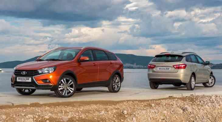 АВТОВАЗ представил серийный универсал Lada Vesta и его кросс-версию