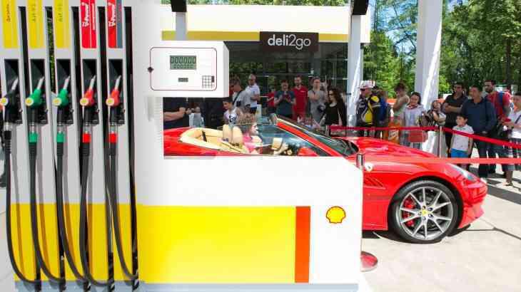 Компания Shell презентовала в России новый бензин