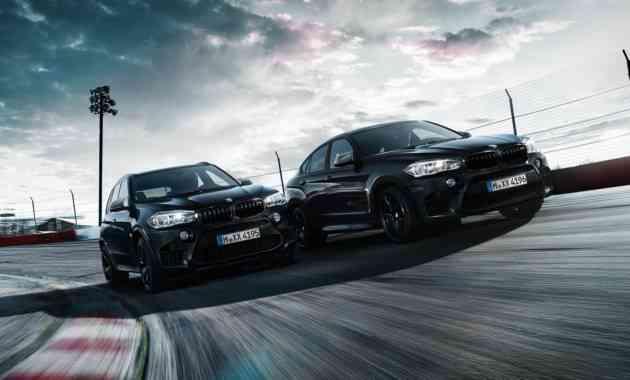 Для «заряженных» BMW X5 M и BMW X6 M разработали новую спецсерию