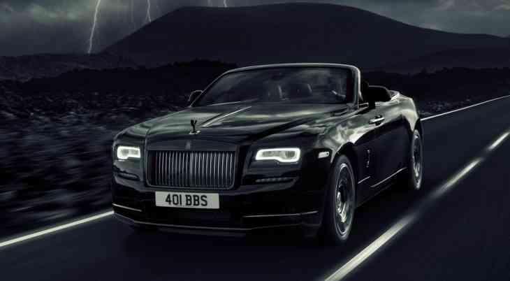 Ещё у одной модели Rolls-Royce появилась «чёрная» версия