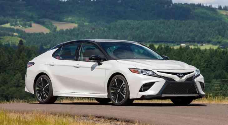 Стартовало производство Toyota Camry нового поколения