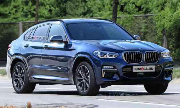 Новый BMW X4: первые изображения