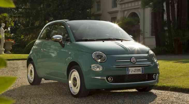 Дилеры принимают заказы на юбилейную спецверсию компакта Fiat 500