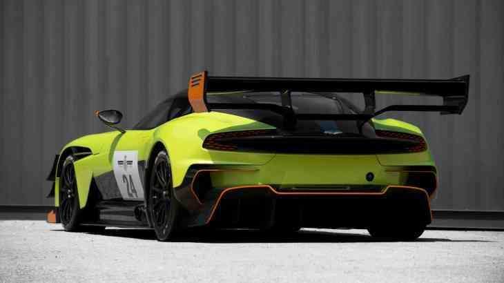 Aston Martin сделал Vulcan еще экстремальнее