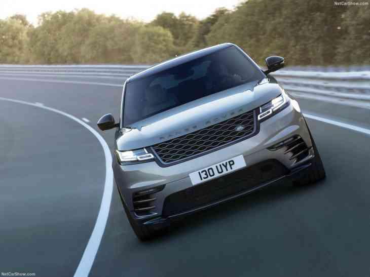 Российские кроссоверы Range Rover Velar получат новый мотор