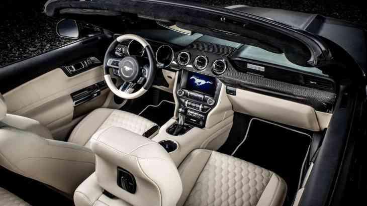 Модный приговор: элегантный интерьер для Ford Mustang