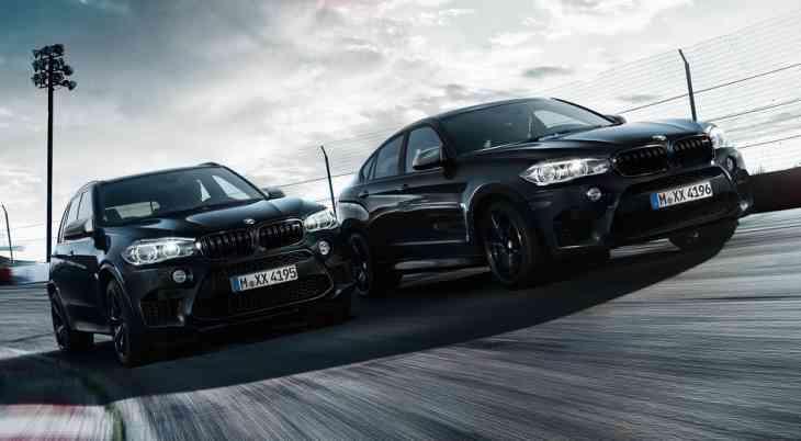Названы российские цены BMW X5 M и BMW X6 M особой серии Black Fire