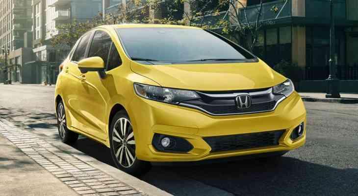 Японцы представили обновленный компакт Honda Fit