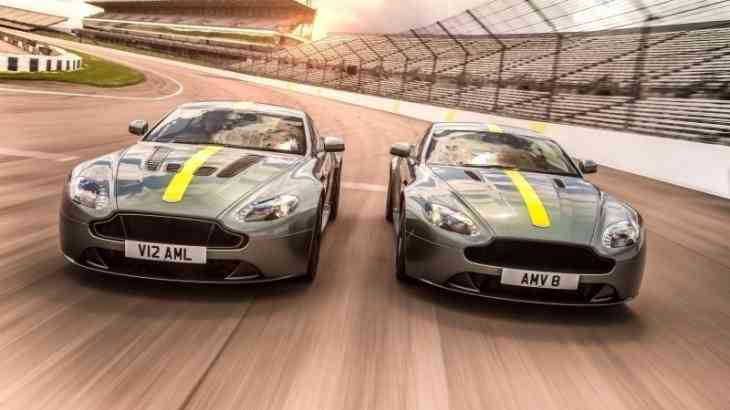 Aston Martin представил спецверсию суперкара Vantage AMR