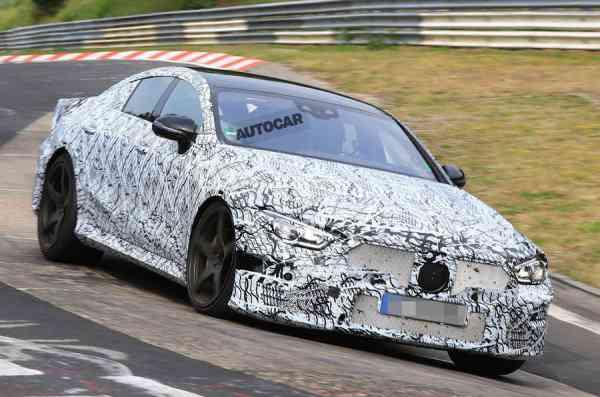 Седан AMG GT может стать самой мощной моделью Mercedes-Benz