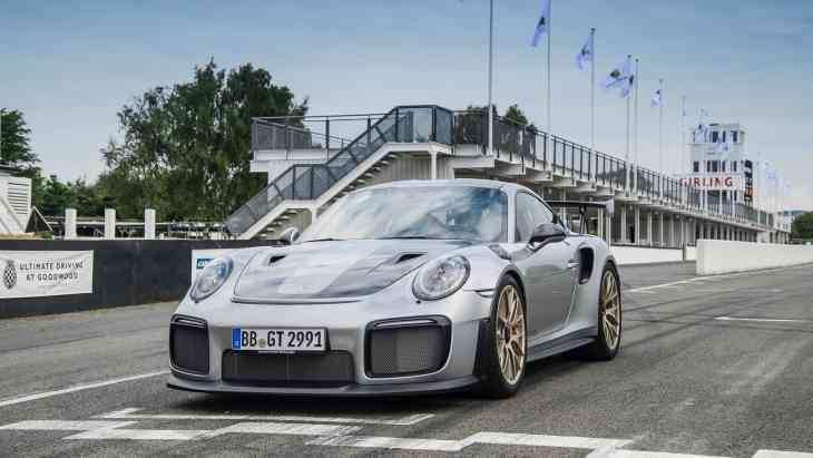 Porsche представил мощнейший 911-й за всю историю