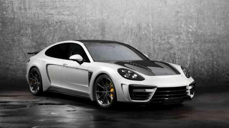 Porsche Panamera «нарядили» в карбон