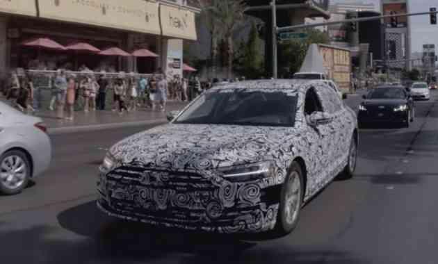 Audi A8 нового поколения поможет забыть о стрессе: очередное видео