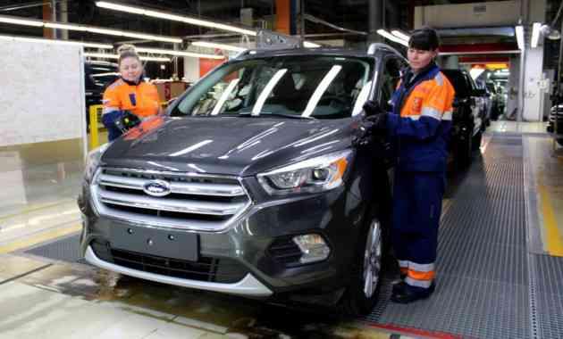 Ford Sollers поднимает зарплаты на российских заводах