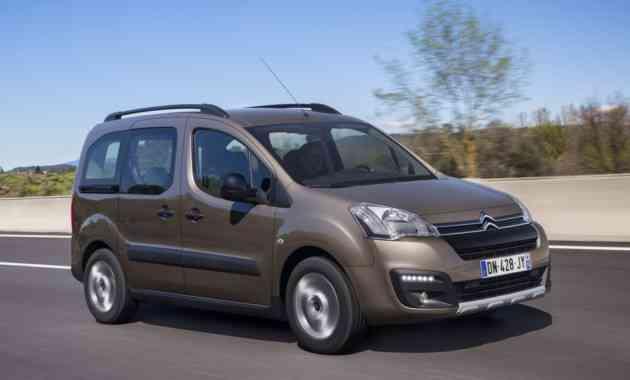 Россиянам снова доступен дизельный Citroen Berlingo Multispace
