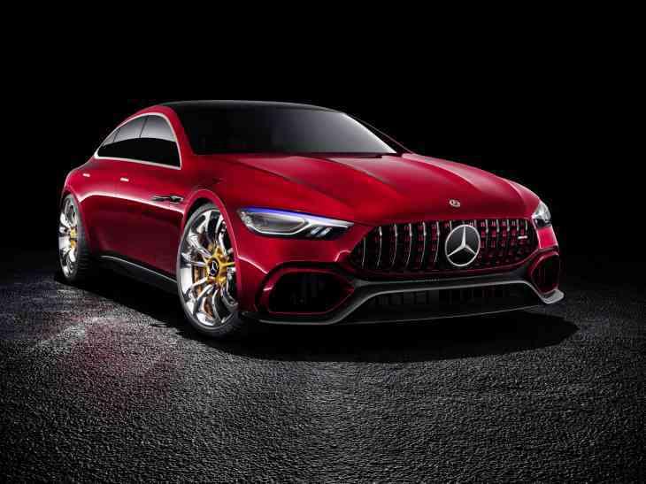 Четырёхдверный Mercedes-AMG GT получит «ураганный» мотор