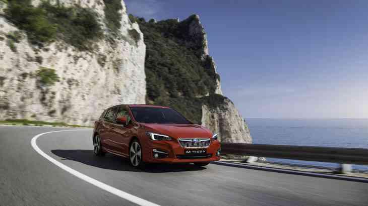 Subaru назвала дату премьеры новой Impreza в Европе