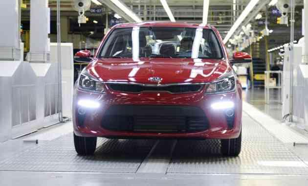 В России стартовал серийный выпуск Kia Rio нового поколения