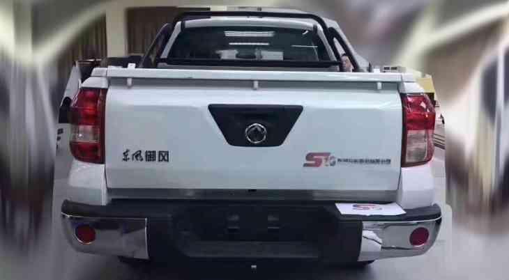 Dongfeng готовится запустить в продажу новый пикап
