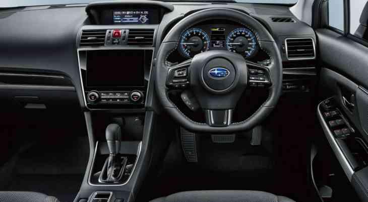 Subaru представила рестайлинговый универсал Levorg