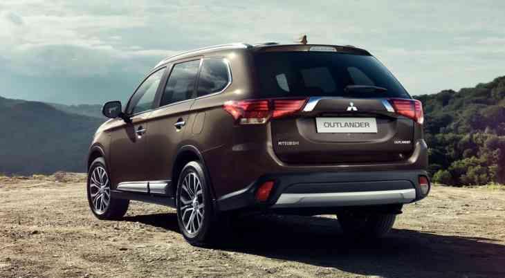Продажи Mitsubishi в РФ в январе-июне: на Outlander приходится 84% спроса