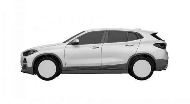 Рассекречен дизайн серийного кроссовера BMW X2