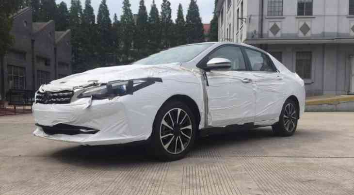 Совместная марка Nissan и Dongfeng скоро представит новый седан