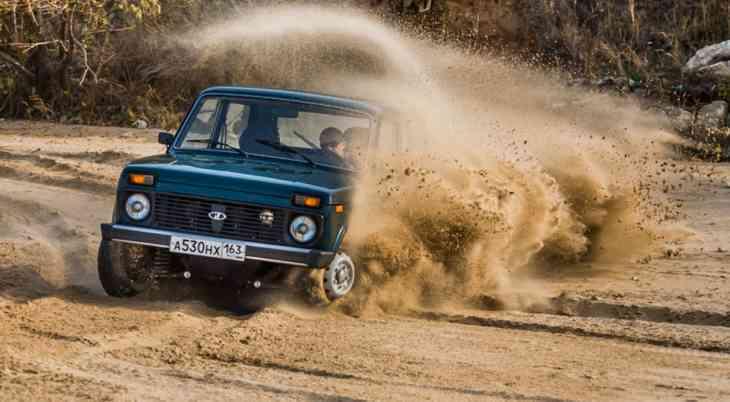 Lada покажет 4×4 «Камуфляж» в честь юбилея модели