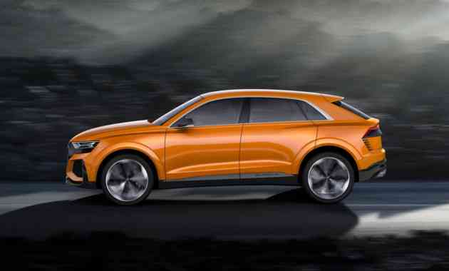 Новый кроссовер Audi Q8 поймали в России