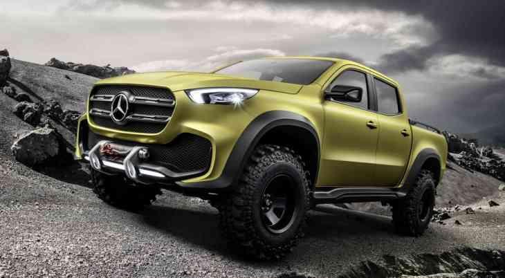 Серийный пикап Mercedes-Benz: официальное видео и дата премьеры