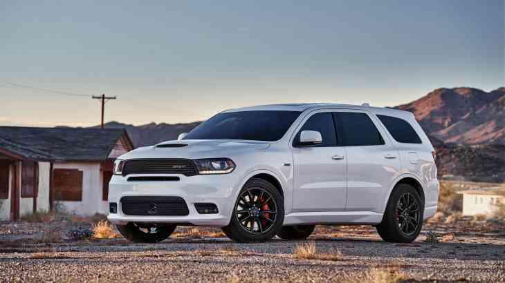 «Заряженный» внедорожник Dodge получил ценник