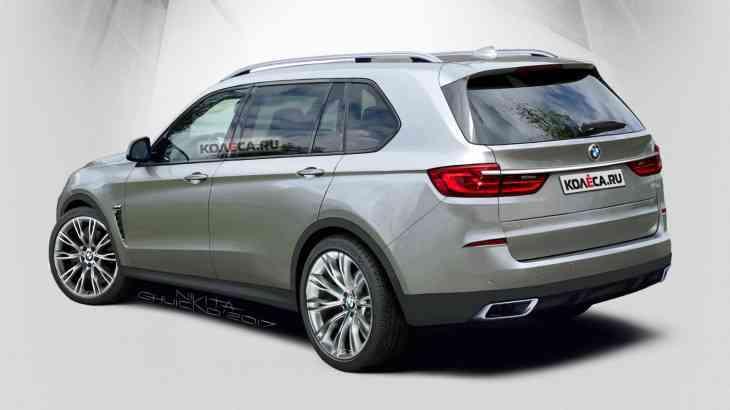 BMW X7: появилось видео с испытаний новинки