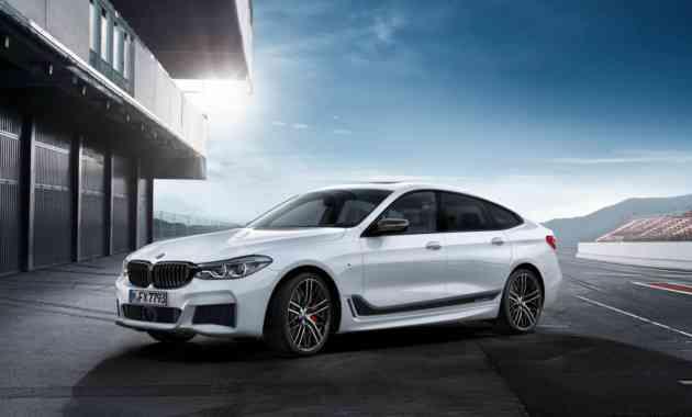 BMW показала новый лифтбек 6 Series GT в обвесе M Performance
