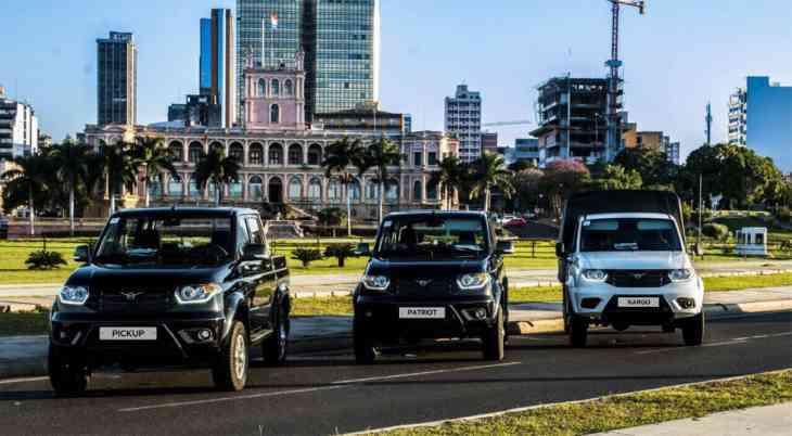 УАЗ нарастил экспорт в первой половине 2017 года