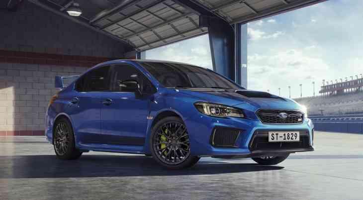 В России принимают заказы на обновлённые седаны Subaru WRX и WRX STI