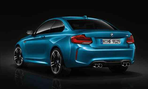 Рассекречены характеристики купе BMW M2 CS