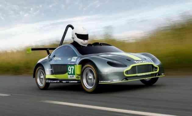 Aston Martin представил миниспорткар