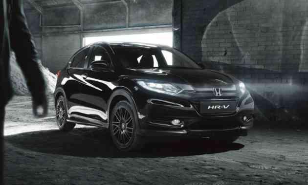 Honda предложила британцам «черный» HR-V