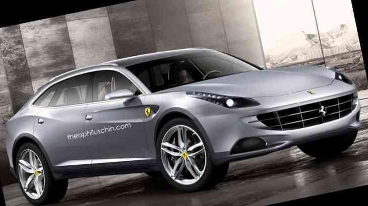 Ferrari все-таки подумывает о внедорожнике