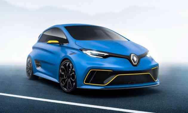 В Renault задумались о выпуске «заряженного» электрокара