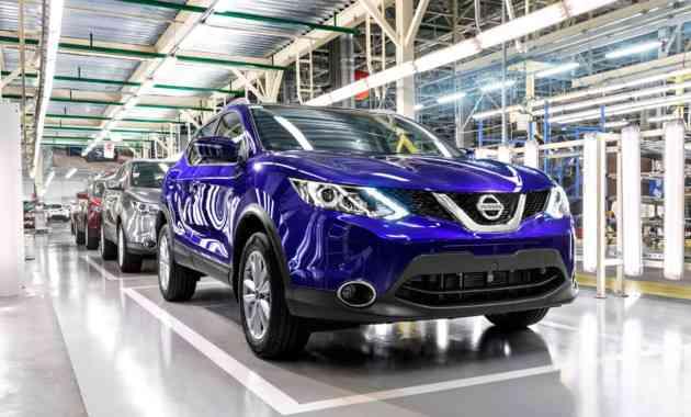 Nissan наращивает объём производства автомобилей в России