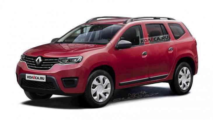 Новый Renault Duster: первые изображения