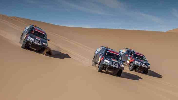 Toyota подготовила свой Challenge для «Шелкового пути 2017»
